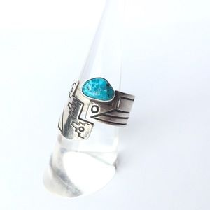 💎 host pick 🎉 Turquoise Aztec sterling silver